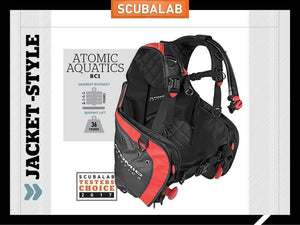 Atomic Aquatics BC1 BCD (Large, Black)
