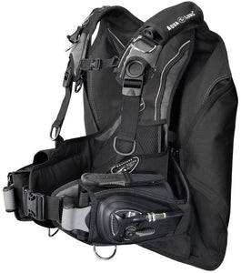 Aqua Lung Lotus i3 BC Integrated Weight System BCD (Black/Charcoal, Medium)