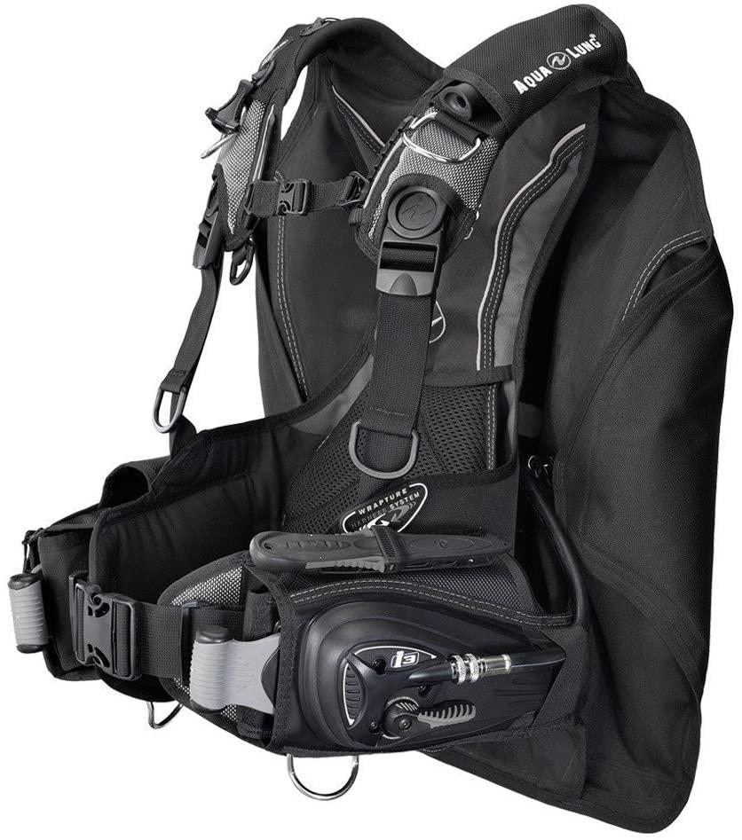 Aqua Lung Lotus i3 BC Integrated Weight System BCD (Black/Charcoal, X-Small/Small)