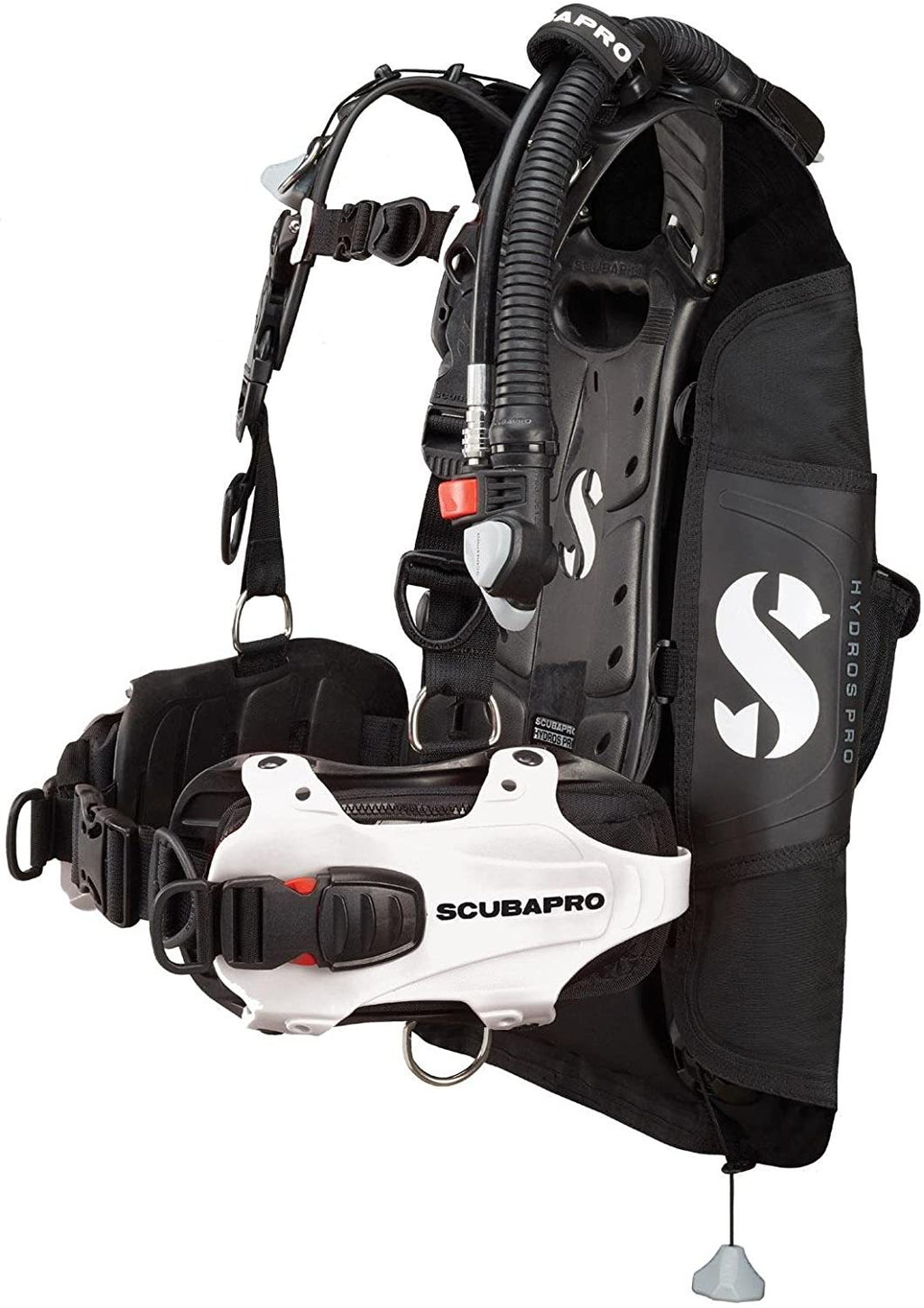 Scubapro HYDROS PRO BCD with BPI, Women, White, M