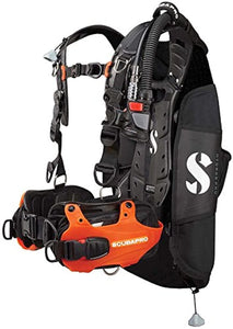 Scubapro Hydros Pro Mens BCD W/Balanced Inflator (Large, Orange)