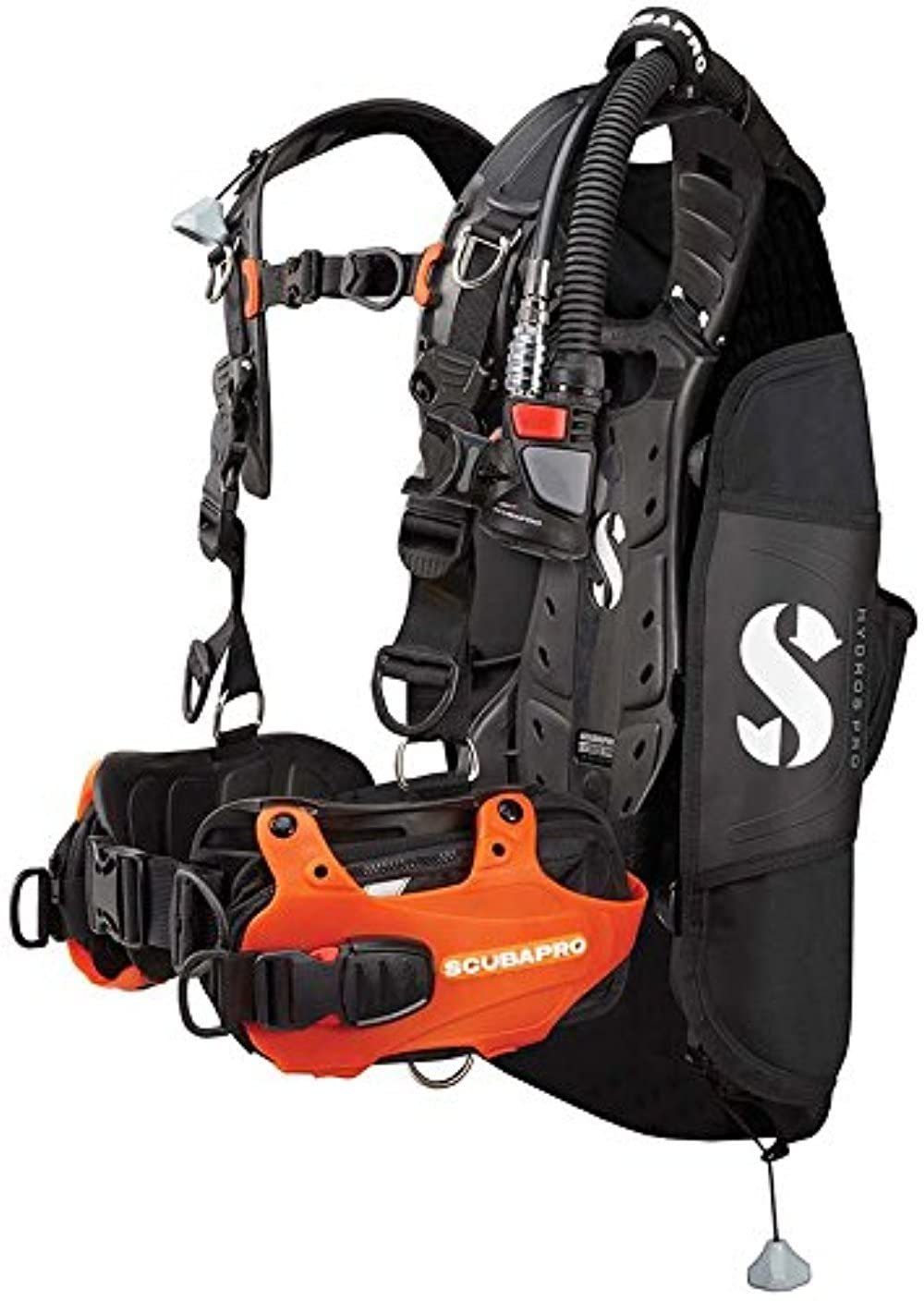 Scubapro Hydros Pro w/Balanced Inflator BCD-Orange-Small