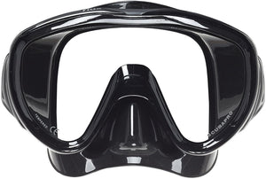 SCUBAPRO Flux Mask for Scuba Diving or Snorkeling (Black)