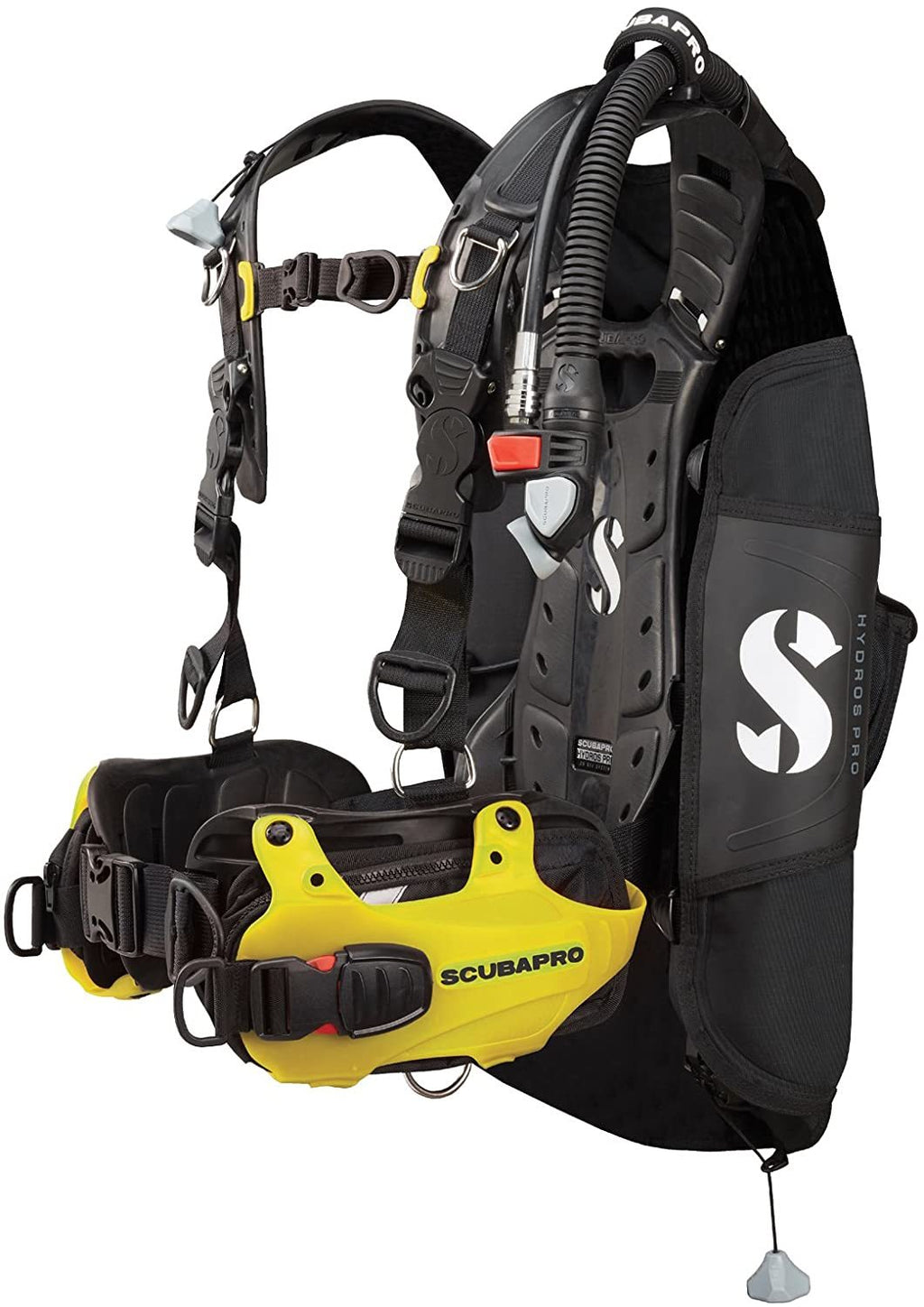 Hydros Pro w/Balanced Inflator BCD-Yellow Small