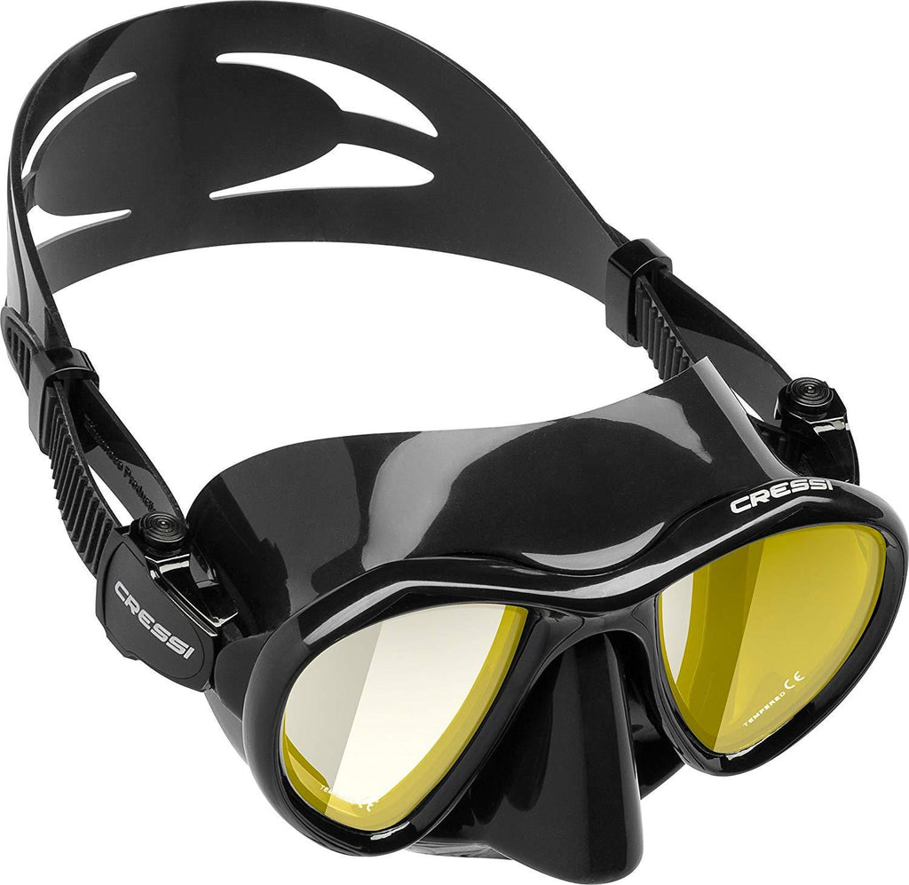 Cressi METIS, Adult Free Diving Photographer Low Volume Mask - Cressi: Quality since 1946