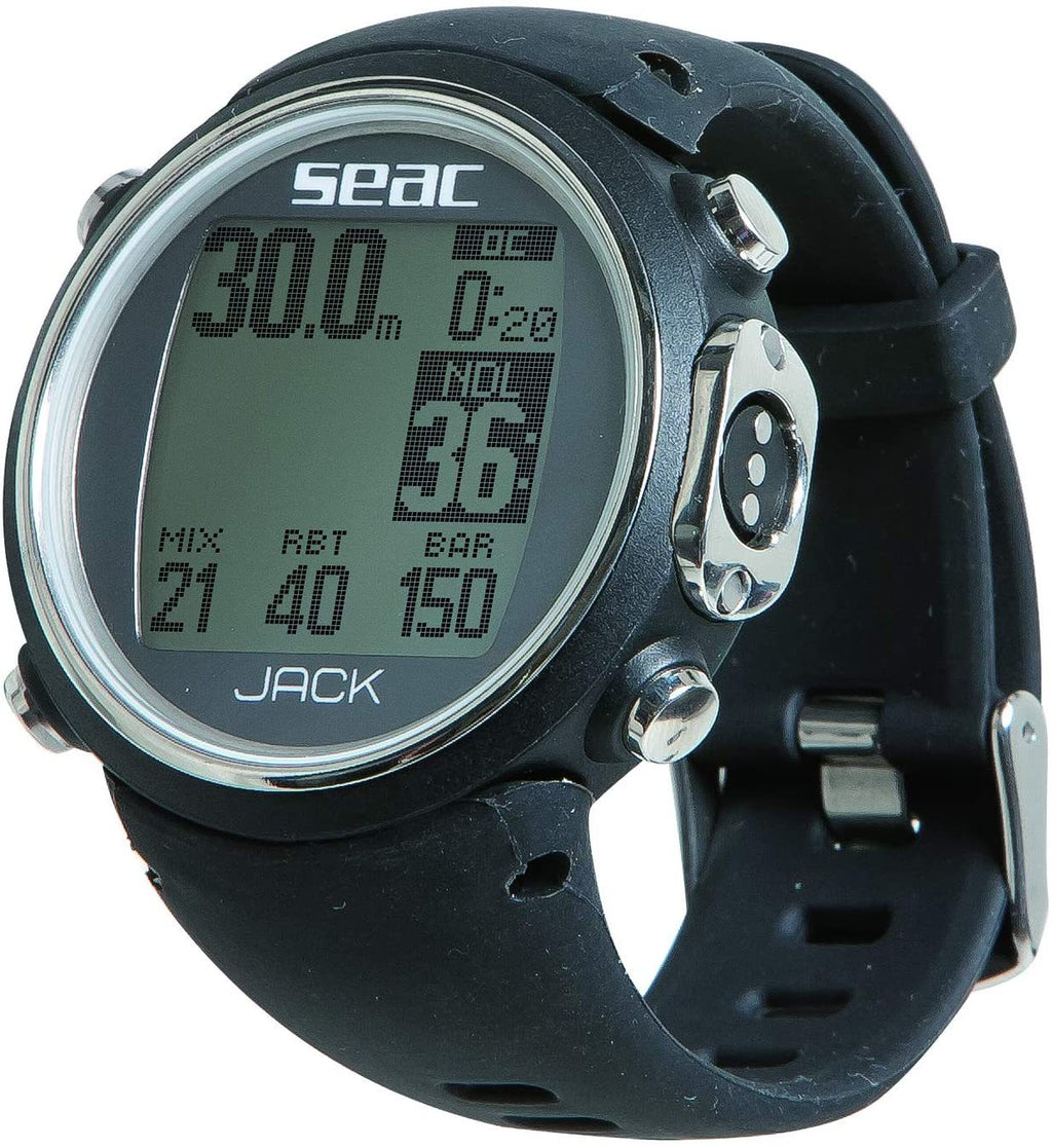 SEAC Jack Freediving Dive Computer, Black