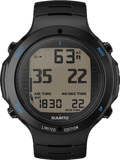 Suunto D6i Novo All Black Steel Limited Edition