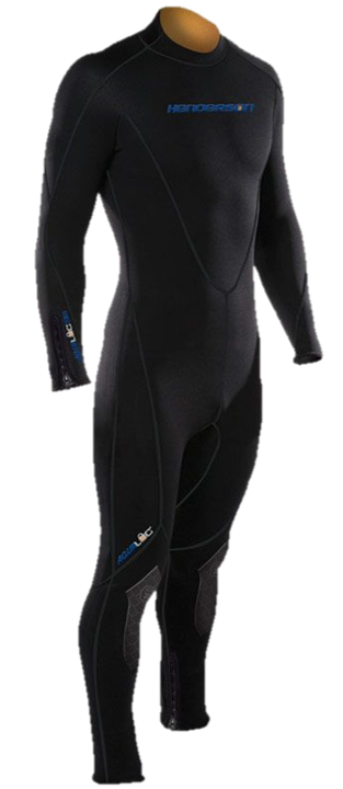 Henderson Aqua Lock Men's 7mm Back Zip Full Jumpsuit 800 Series