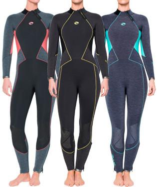 Bare 7mm Evoke Women's Full Suit