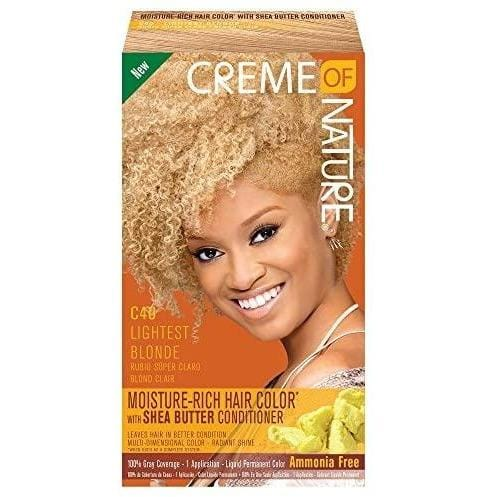 Creme of Nature Liquid Hair Color #C43 Lightest Blond