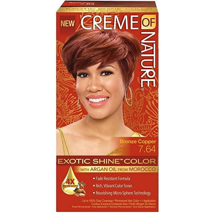 Creme of Nature Gel Hair Color #7.64 Bronze Copper