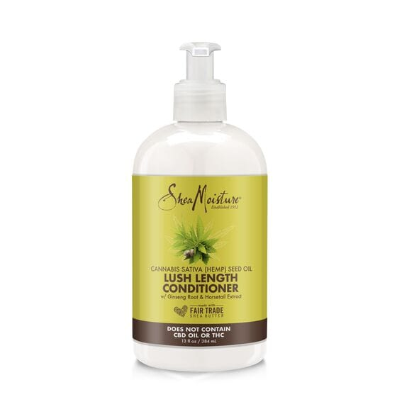 Shea Moisture Cannabis Sativa (Hemp) Seed Oil Lush Lenght Conditioner 13oz