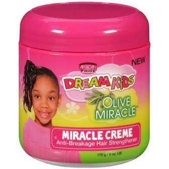 African Pride Dream Kids Olive Miracle Cream Hair Stren.6 oz