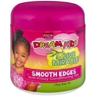 African Pride Dream Kids Olive Smooth Edges 6 oz