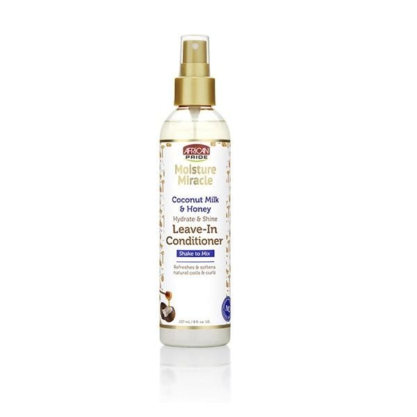 African Pride Moisture Miracle Leave-In Spray 8oz
