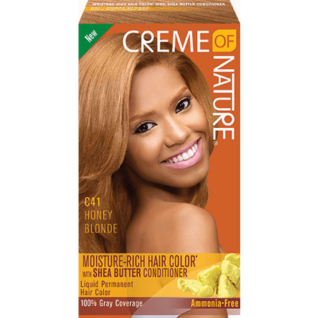 Creme of Nature Liquid Hair Color #C41 Honey Blonde