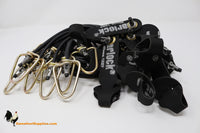 4' Rubber - Dozen - Gamefowl Tie Cords - QTY 12