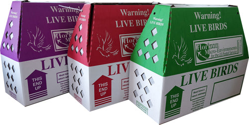 30 - 'Lite' Horizon Live Bird Shipping Boxes