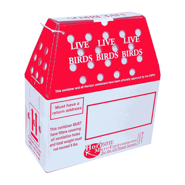 3 - 'Original' Horizon Live Bird Shipping Boxes
