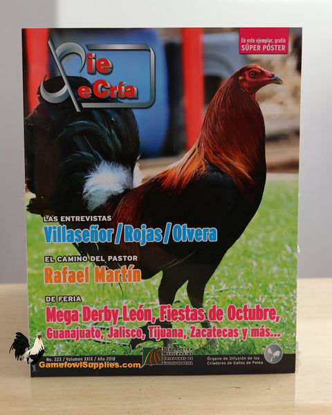 Pie De Cria - Gamefowl Magazine - No. 223