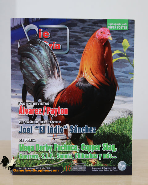 Pie De Cria - Gamefowl Magazine - No. 224