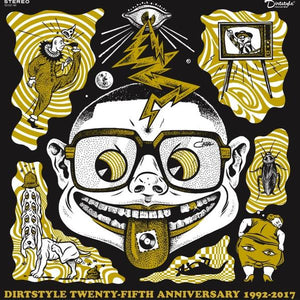 "DJ Q-Bert-Dirtstyle Twenty-Fifth Anniversary 1992-2017 7"" Picture Disc"