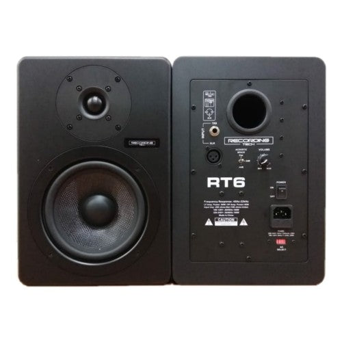 Recording Tech Studio Monitors RT6