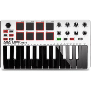 Akai MPK Mini MK2-White Limited Edition