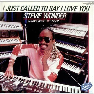 "Stevie Wonder-I Just Called To Say I Love You (Used)-7"" Vinyl"
