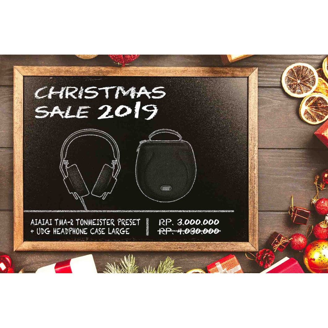 AIAIAI TMA-2 Modular Tonmeister Preset + UDG Creator Headphone Case Large Bundle (Christmas Sale 2019)