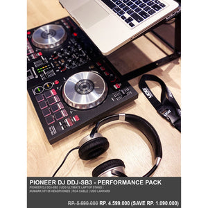 Pioneer DJ DDJ-SB3 Performance Pack (Jun-20 Promo)