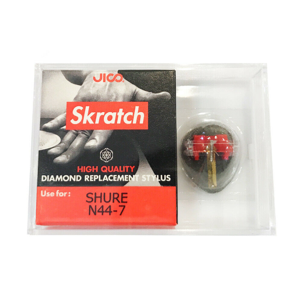 Jico x Skratch Diamond Replacement Stylus for Shure N44-7