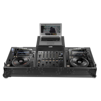 UDG Ultimate Flight Case Pioneer CDJ-2000/900NXS2 MK2 Plus (Laptop Shelf+Wheels)