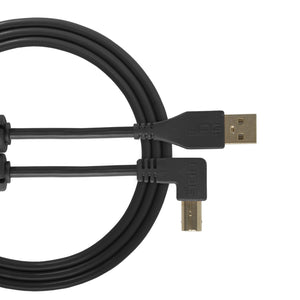 UDG Ultimate Audio Cable USB 2.0 A-B Black Angled