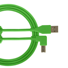UDG Ultimate Audio Cable USB 2.0 A-B Green Angled
