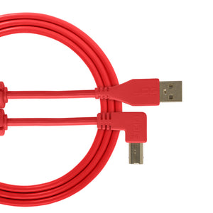 UDG Ultimate Audio Cable USB 2.0 A-B Red Angled