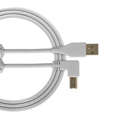 UDG Ultimate Audio Cable USB 2.0 A-B White Angled