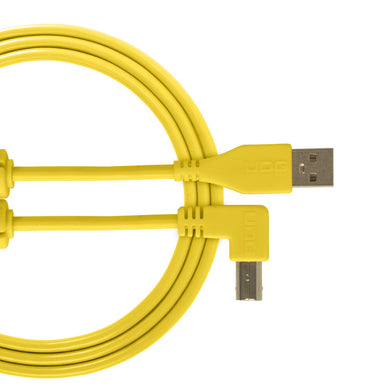 UDG Ultimate Audio Cable USB 2.0 A-B Yellow Angled