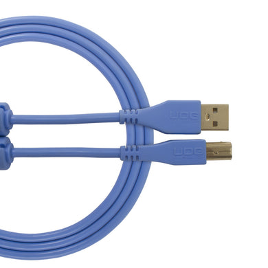 UDG Ultimate Audio Cable USB 2.0 A-B Light Blue Straight