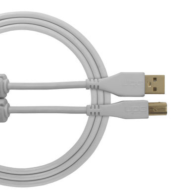 UDG Ultimate Audio Cable USB 2.0 A-B White Straight