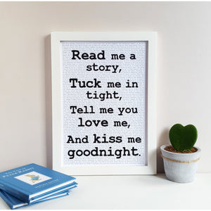 Read Me A Story Quote Storytale Decor