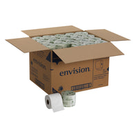 "ENVISION 2PLY TOILET TISSUE EMBOSSED 3.8""x4.05"" SHEETS 80rl/550sht"