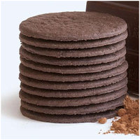 "3-3/16"" ROUND CHOCOLATE WAFER 800/ BURY ICE CREAM SANDWICH 235"