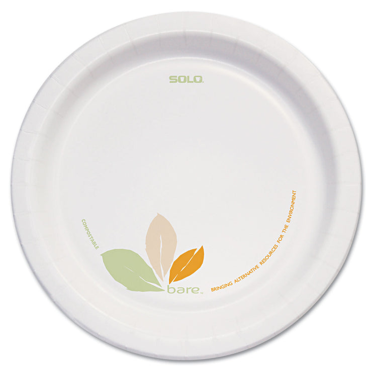 Dart Bare Paper Eco-Forward Dinnerware, 8 1/2