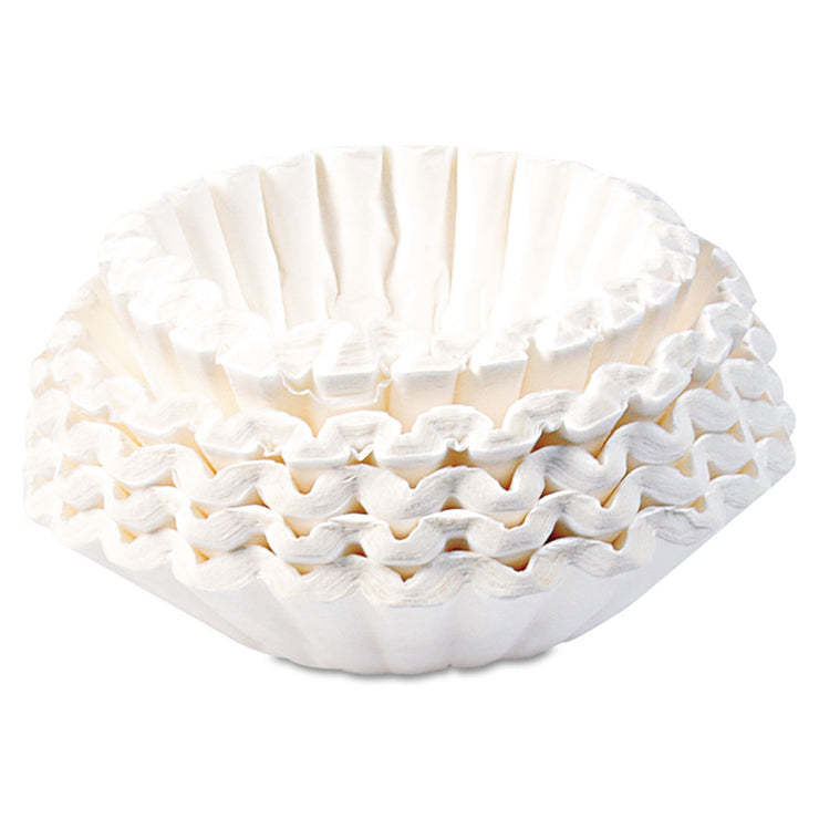 BUNN Flat Bottom Coffee Filters, 12-Cup Size, 250/Pac k