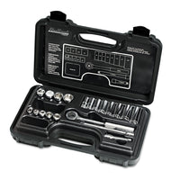 "Blackhawk 20-Piece Mechanic's Tool Set, SAE, 3/8""-Drive, Deep/Standard, 12-Point"