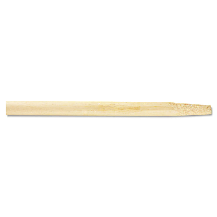 Boardwalk Tapered End Broom Handle, Lacquered Hardwood, 1 1/8 dia x 54, Natural