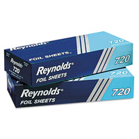 Reynolds Wrap Pop-Up Interfolded Aluminum Foil Sheets, 12 x 10 3/4, Silver, 200/Box