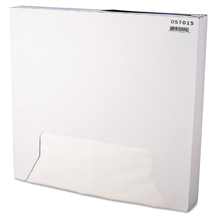 Bagcraft Grease-Resistant Paper Wrap/Liner, 15 x 16, White, 1000/Box, 3 Boxes/Carton