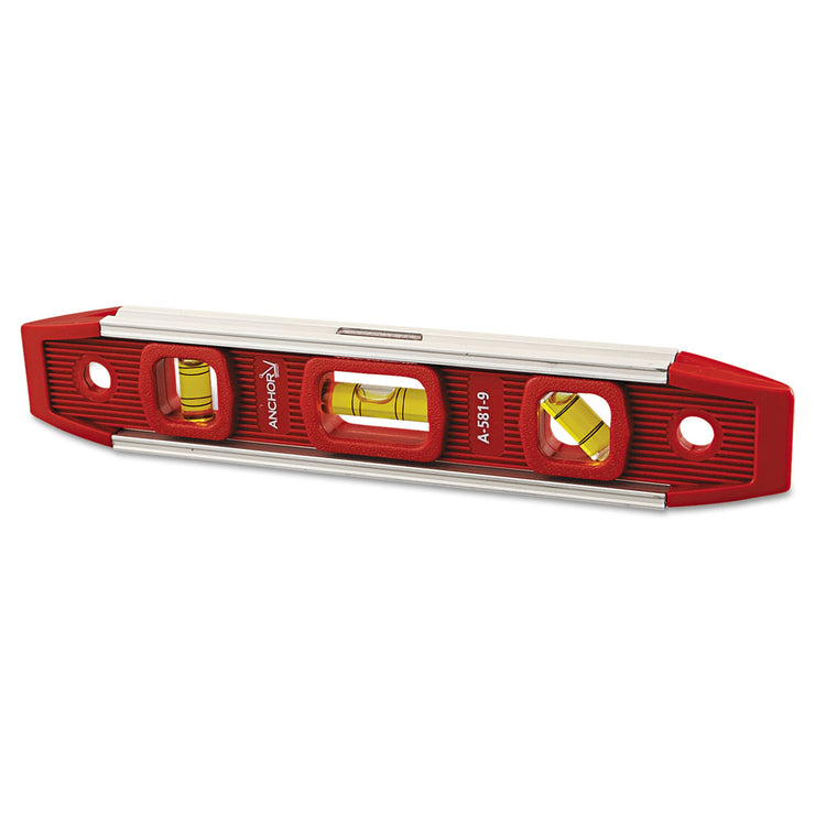 Anchor Brand Magnetic Torpedo Level, 9